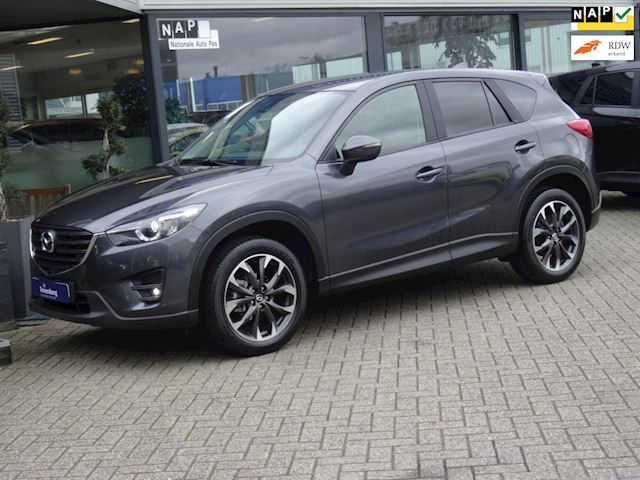 Mazda CX-5 2.5 GTM 192PK 4WD AUTOMAAT (FULL-OPTIONS!! LEDER NAVI TREKHAAK CAMERA PDC-V+A)
