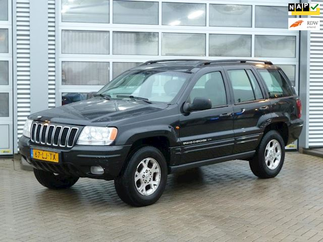 Jeep Grand Cherokee 2.7 CRD Limited BJ.2003 LEDER | AUTOM. | NAP.