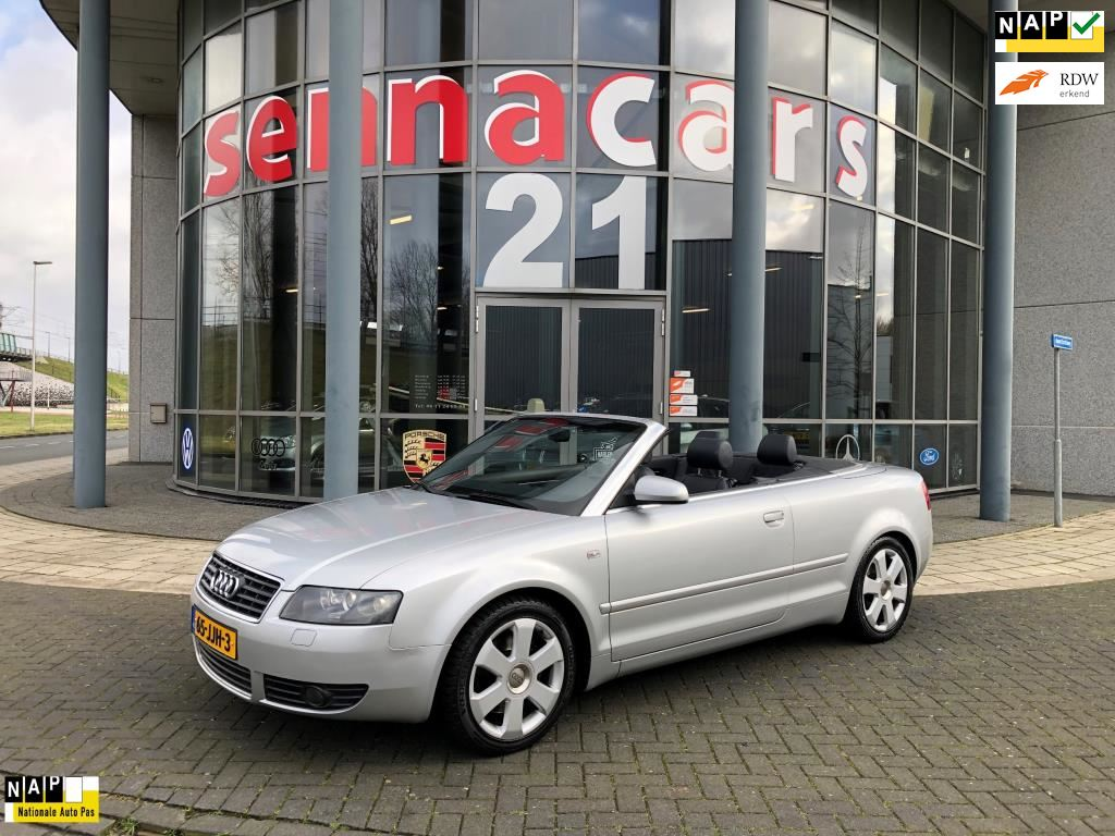 Audi A4 Cabriolet occasion - Senna Cars