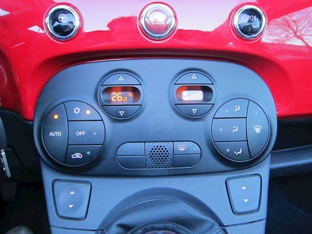 Fiat 500 C 1.2 Lounge LEDER CLIMA PDC 16 INCH 64000 KM!!