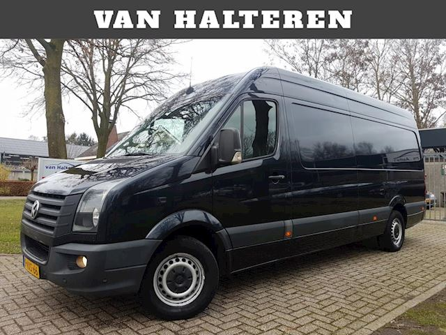 Volkswagen Crafter 32 2.5 TDI L4H2 DC Trendline MAXI LEDER AIRCO 7-PERSOONS AUTOMAAT 136 PK X-LANG