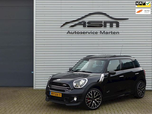 Mini Mini Countryman 1.6 JCW Aut F1 ALL4 Chili Alle opties!! 22Dkm!