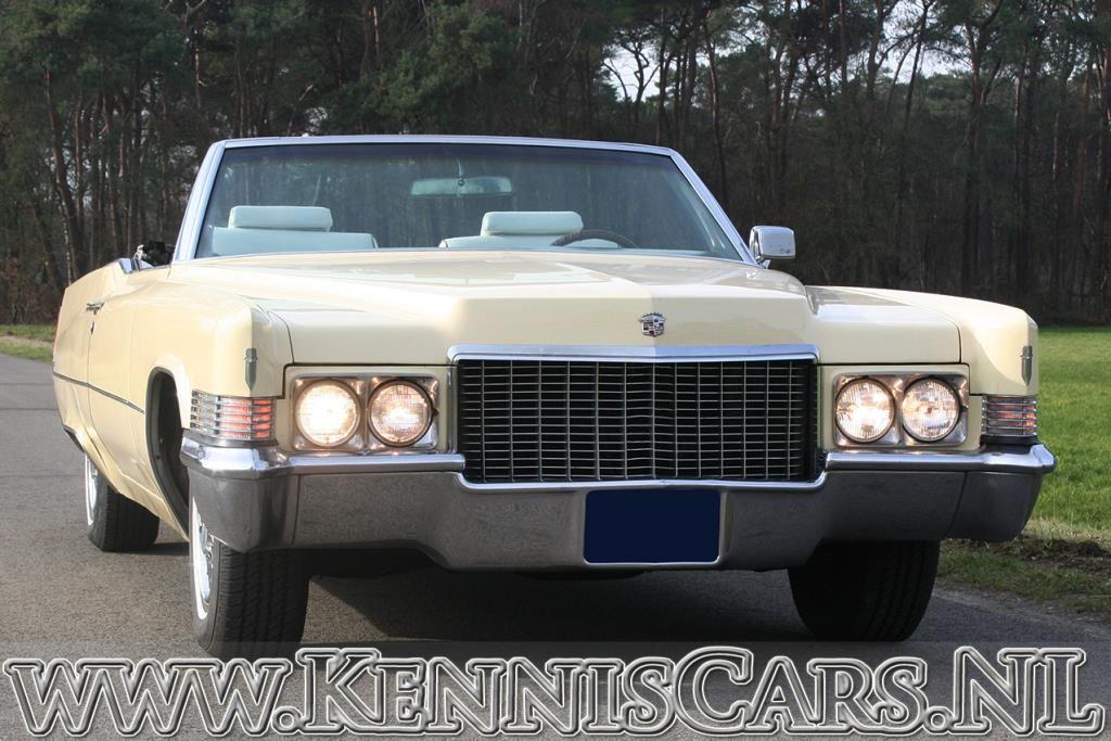 Cadillac 1970 De Ville Convertible occasion - KennisCars.nl