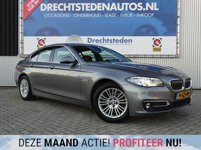 BMW 5-serie 2.0d High Luxury Edit. Aut. Uniek 69Dkm! Leer Sp.Stoelen! Dig. Dashboard! Xenon! 1e Eig.
