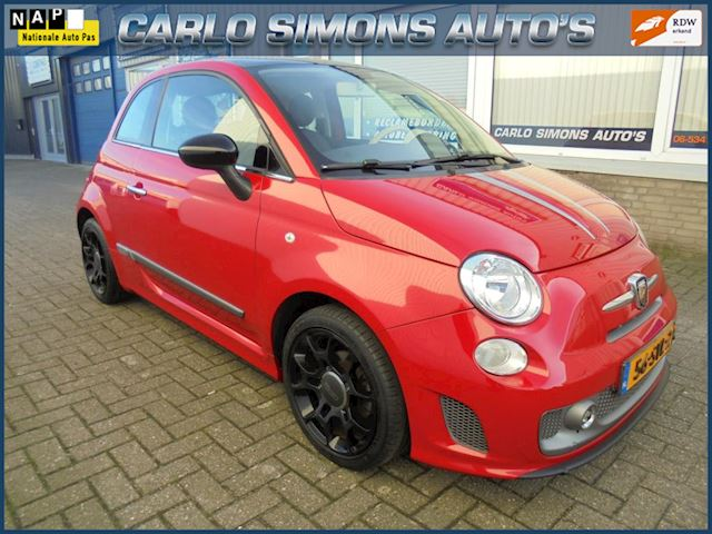 Fiat 500 1.2 Lounge abarth look 62000 km