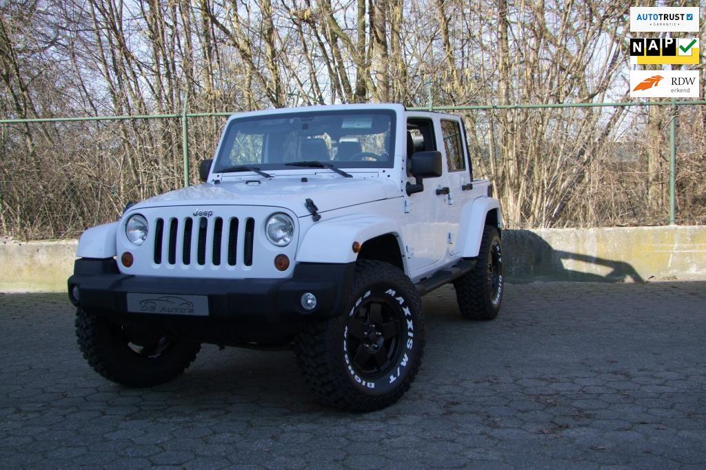 Jeep Wrangler Unlimited occasion - DG Auto's