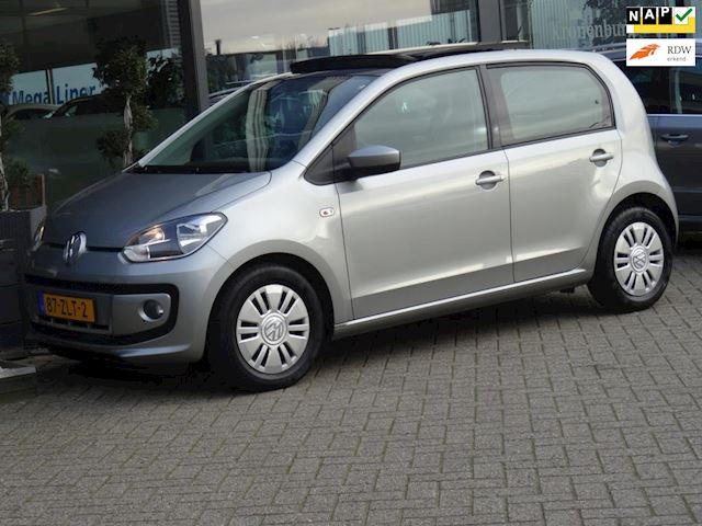 Volkswagen Up! 1.0 move up! BlueMotion (PANORAMADAK NAVI AIRCO 5-DRS EL-RAMEN 44DKM!!)