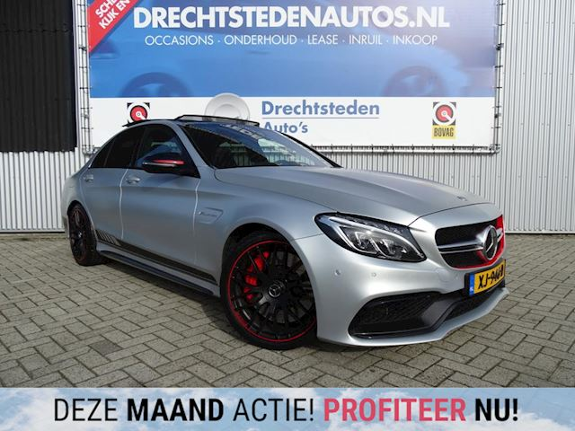 "Mercedes-Benz C-klasse 63 AMG S Edition 1 510PK! Panoramadak! 19""Inch! LED!"