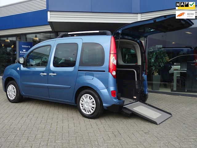 Renault Kangoo Family 1.6 16V AUTOMAAT ROLSTOELAUTO ORIGINELE RENAULT TECH (NAVI LUCHTVERING CLIMATE CRUISE PDC)