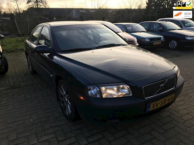 Volvo S80 2.4 Comfort automaat, airco, rijdt perfect, apk