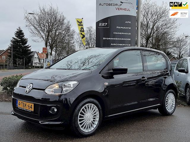 Volkswagen Up! 1.0 high up! BlueMotion 5-Drs Airco Cruise Leer Stoelverwarming Boekjes Nap