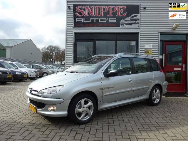 Peugeot 206 SW occasion - Auto Snippe