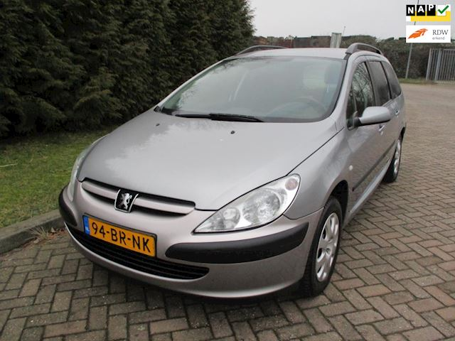 Peugeot 307 Break 2.0 HDi XS Bj 2004,Clima,Cruise,Afneembare Trekhaak