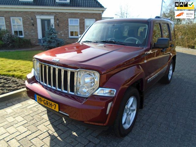 Jeep Cherokee 2.8 CRD Limited automaat airco leer