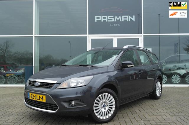 Ford Focus Wagon 1.8 Titanium Flexi Fuel  Navi, Clima, PDC, Trekhaak,