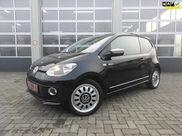 Volkswagen Up! 1.0 high up! black edition , vol leer