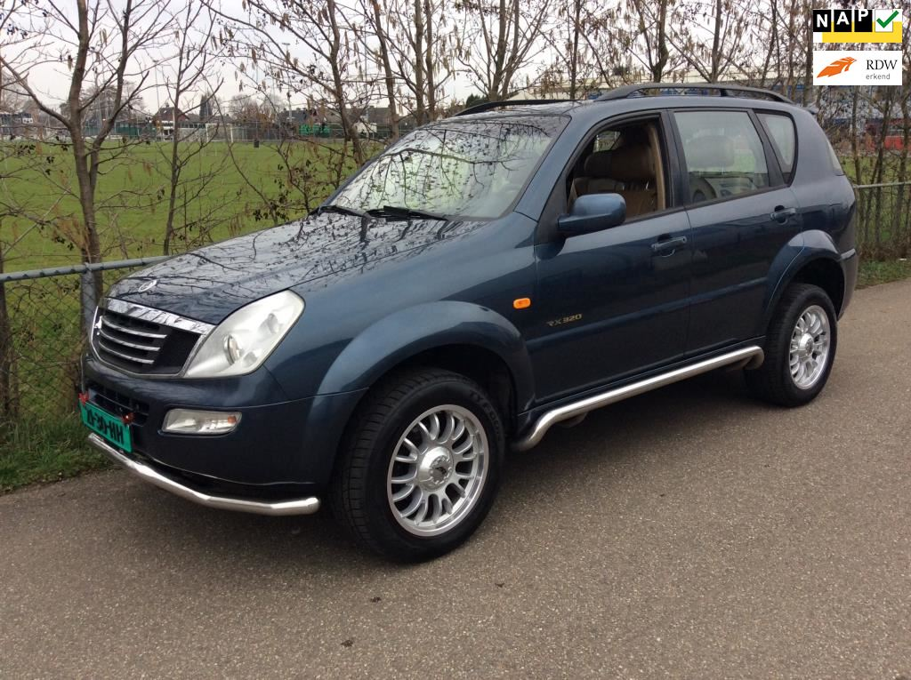 SsangYong Rexton occasion - Rodo Auto's Andelst