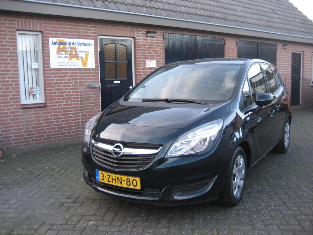 Opel Meriva 1.4I Berlin Nav. Tel. Trekh. Park.sensor Lage km occasion - Autobedrijf Ad Verhallen