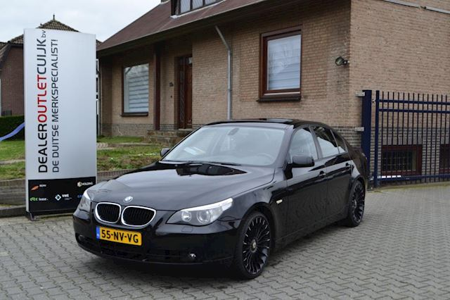 BMW 5-serie 525i High Executive, Xenon, Navi, CruiseControl, PTS, Schuifkanteldak, Clima, .......