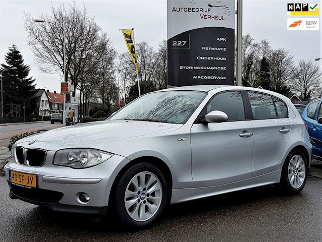 BMW 1-serie 118i High Executive 5-Drs Automaat Navi Clima Cruise Nap Boekjes