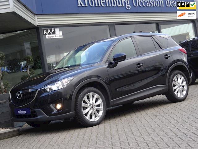 Mazda CX-5 2.0 GTM 4WD AUTOMAAT (FULL-OPTIONS!! SCH-DAK LEDER NAVI CAMERA XENON)