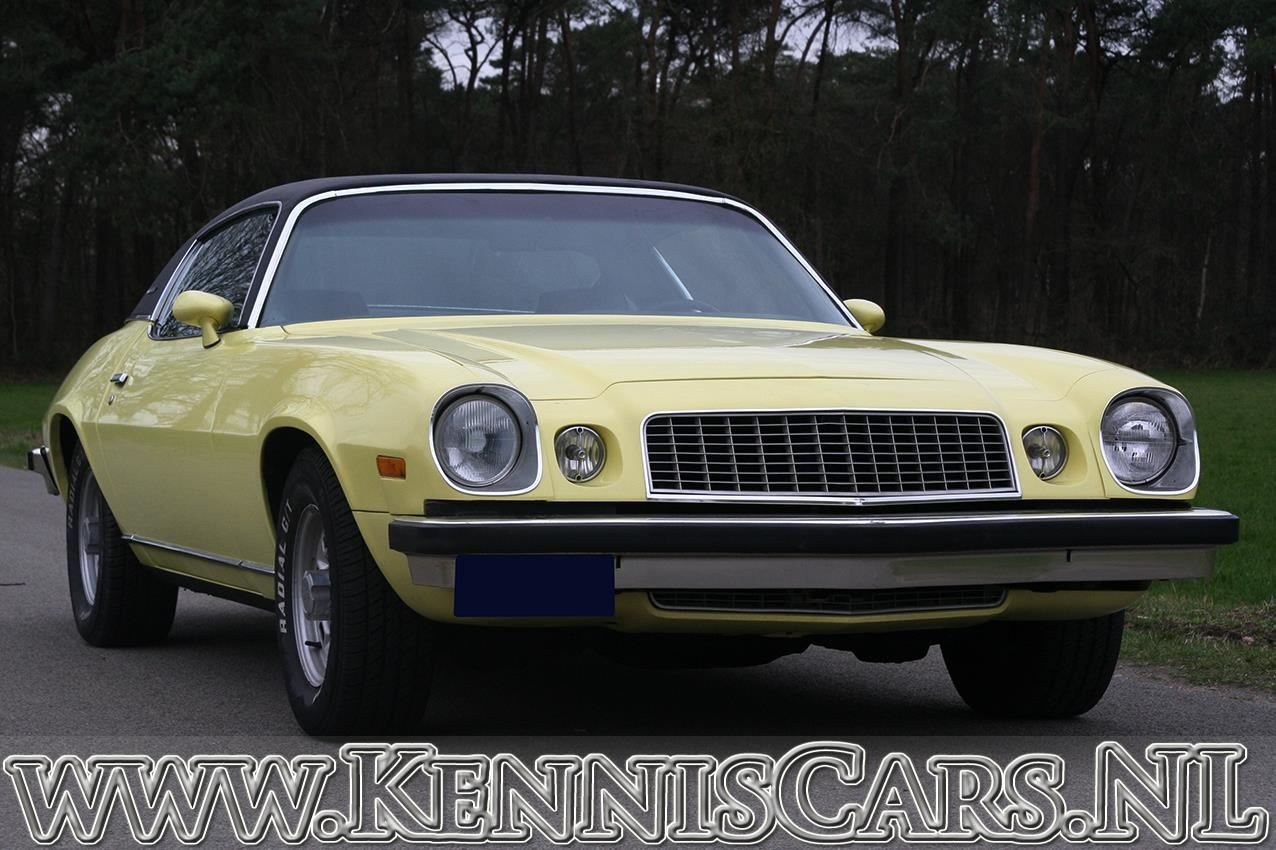 Chevrolet 1974 Camaro LT V8 occasion - KennisCars.nl