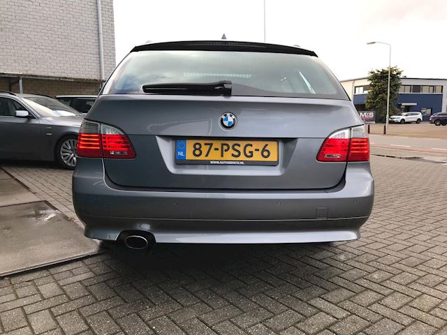 BMW 5-serie Touring 520i Automaat Facelift Leder Navi Clima Cruise Xenon Pdc Incl nw Apk 04-2020