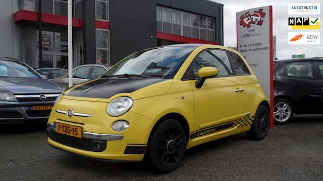 Fiat 500 1.2 Eco Limited Edition Paasshow Airco Abarth uitvoering