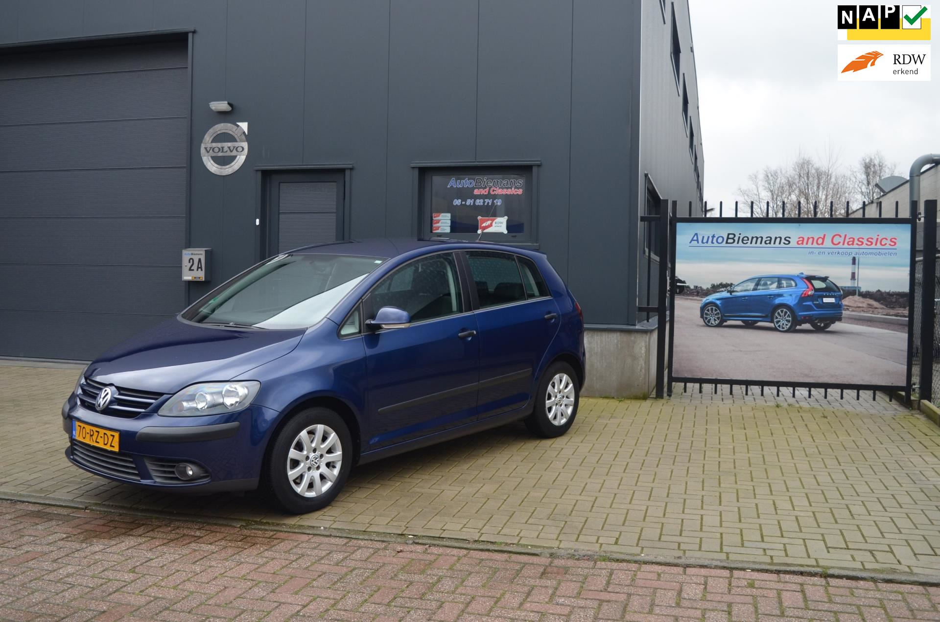 Volkswagen Golf Plus occasion - Auto Biemans