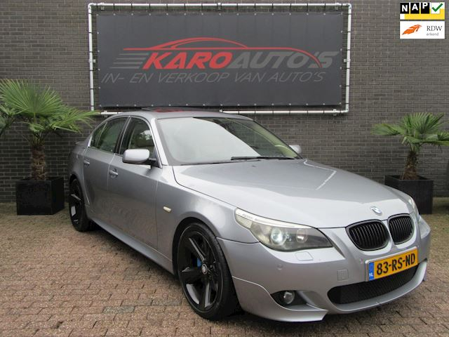 BMW 5-serie 535d High Executive M-pakket Dak Xenon Leer Navi