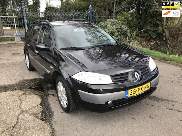 Renault Mégane Grand Tour 1.6-16V Authentique Comfort airco, keurige Dealerauto met NAP