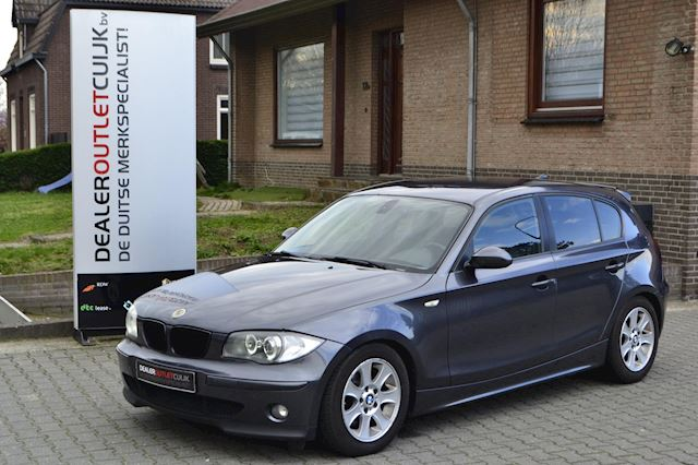 BMW 1-serie 118d High Executive H6, PDC, Led-AngelEyes, S/S