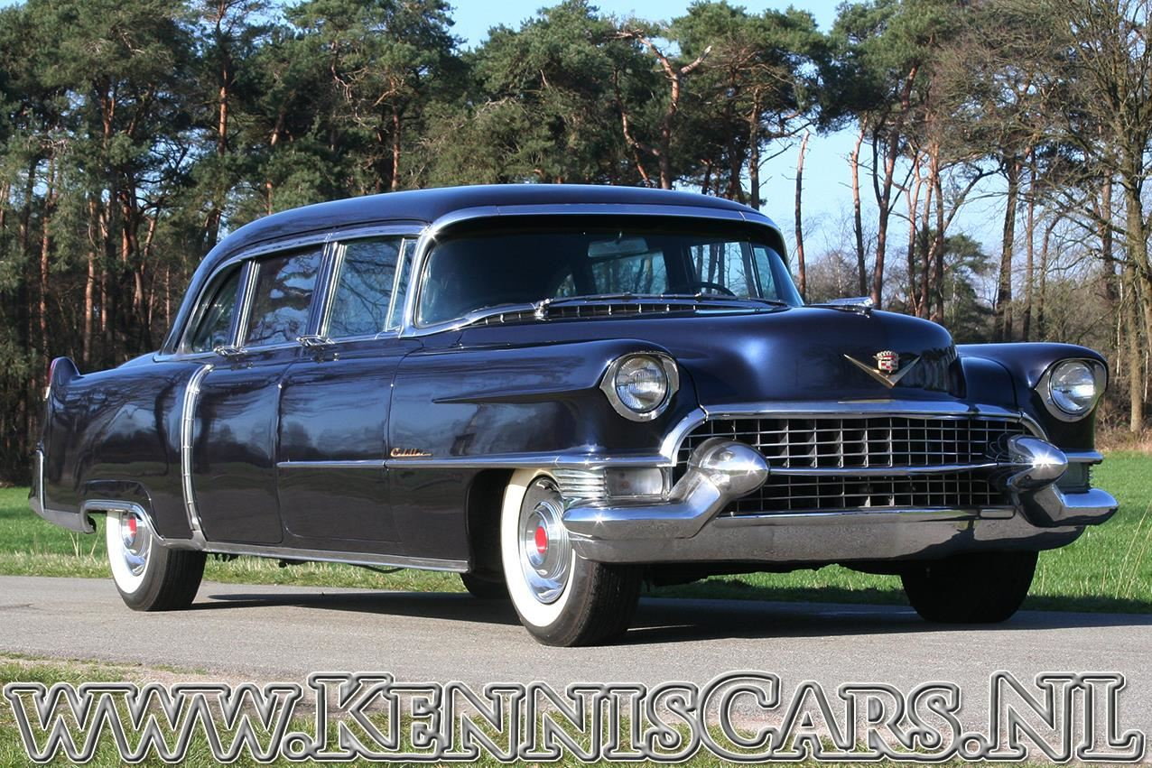 Cadillac 1955 Fleetwood 75 Imperial occasion - KennisCars.nl