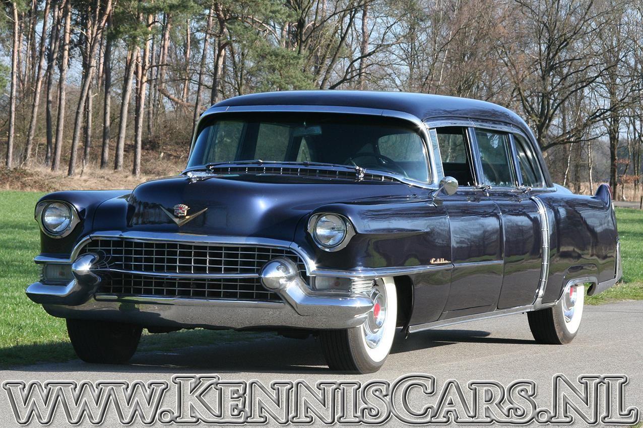 1955年 キャデラック フリートウッド 75 インペリアル