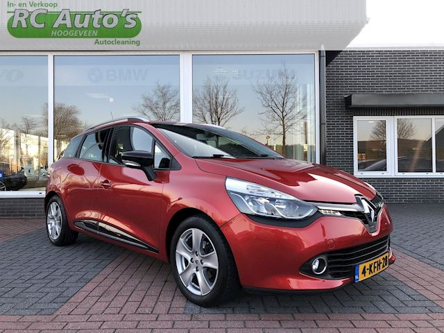 Renault Clio Estate 1.5 dCi ECO Dynamique NAVI-PACK CITY-BASS REFLEX