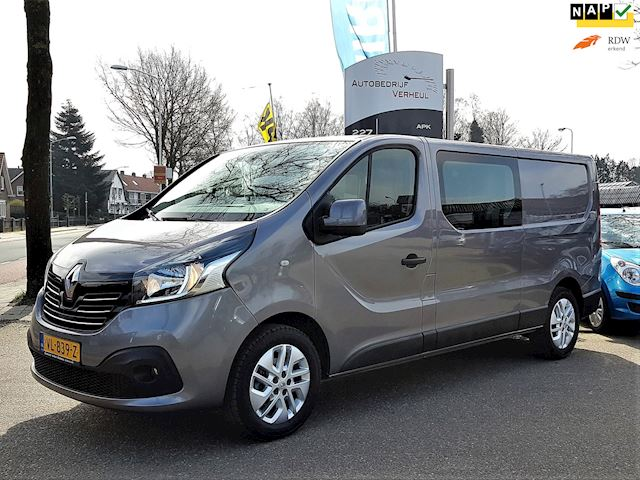 Renault Trafic 1.6 dCi T29 L2H1 DC Turbo2 Dub Cabine Navi Airco Cruise Trekhaak