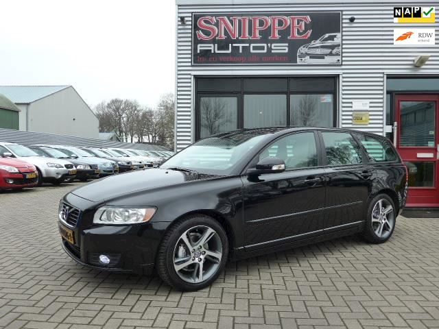 Volvo V50 1.6 D2 Business Pro Edition -NAVI-LEER-ECC-CRUISE-TREKHAAK-