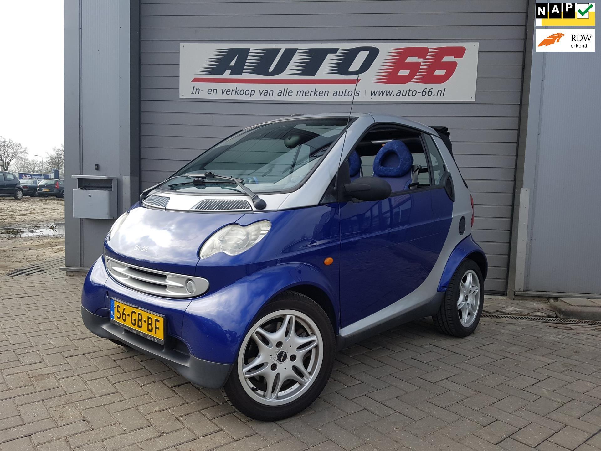 Smart Cabrio occasion - Auto 66 BV