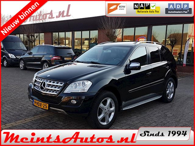 Mercedes-Benz M-klasse ML 350 CDI 4MATIC Facelift V6 224Pk Grijs Kenteken