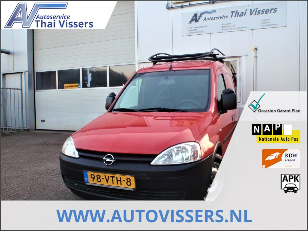 Opel Combo occasion - Autoservice Thai Vissers