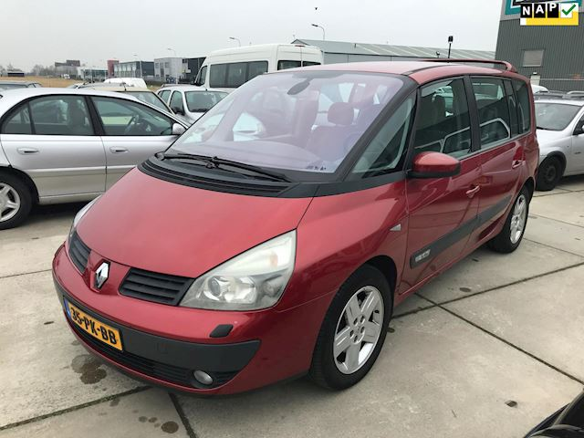 Renault Espace 2.0 T Privilège 7 PERSOONS Info:0655357043