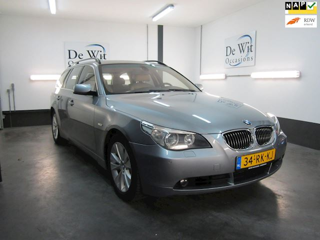 BMW 5-serie Touring 545i High Executive van 2e Eig.!! ZEER MOOIE AUTO !!