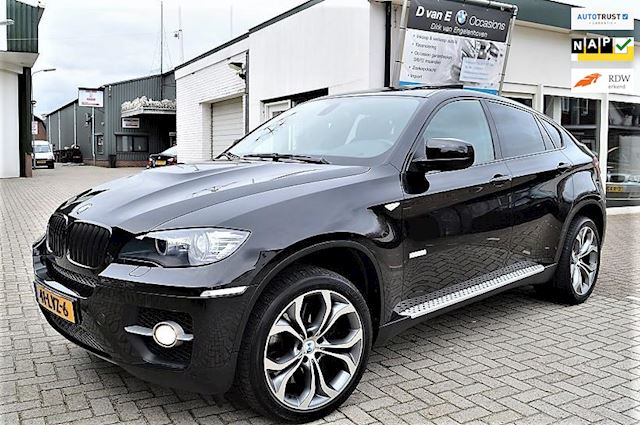 BMW X6 5.0i ActiveHybrid schuifdak head-up softclose 485pk 8cyl.