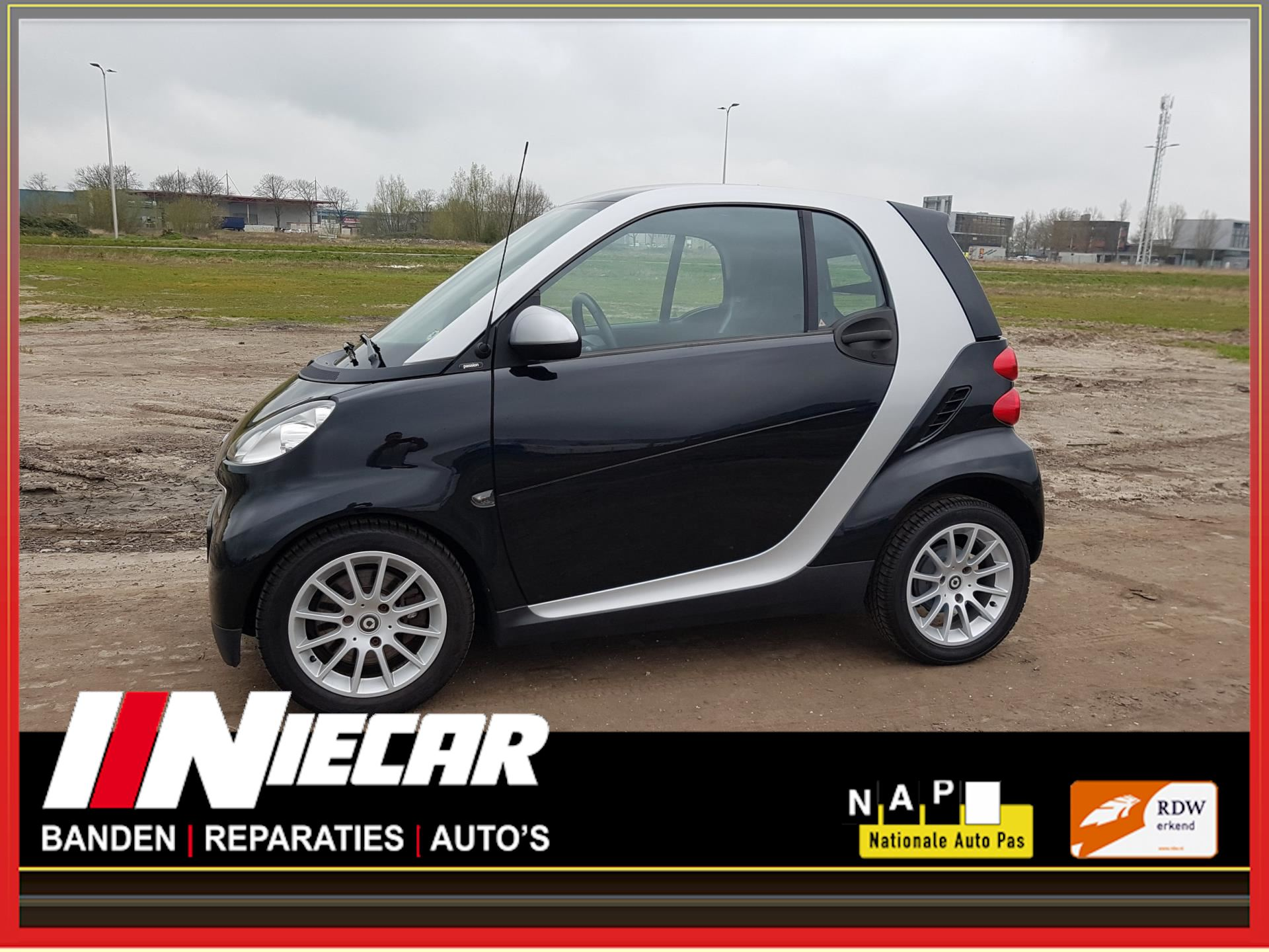 Smart Fortwo coupé occasion - Niecar