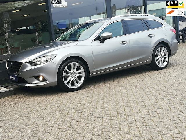 Mazda 6 Sportbreak 2.5 GTM AUTOMAAT (FULL-OPTIONS!! NAVI LEDER CAMERA BOSE)