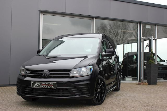 Volkswagen Caddy 2.0 TDI L1H1 LAGE BIJTELLING / BLACK EDITION / LEDER / APPLE CARPLAY / SIDE BARS / DEMO
