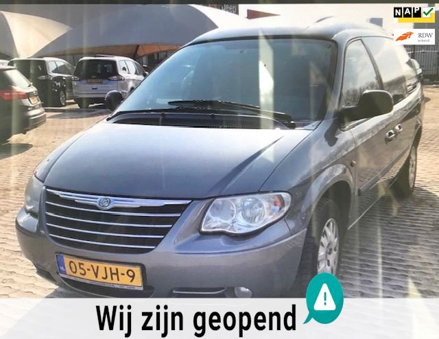 Chrysler Grand Voyager 2.8 CRD SE Luxe High Roof 150pk Automaat Clima Trekhaak