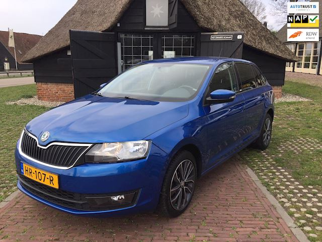 Skoda Rapid Spaceback 1.4 TDI Greentech Edition in nieuwstaat!