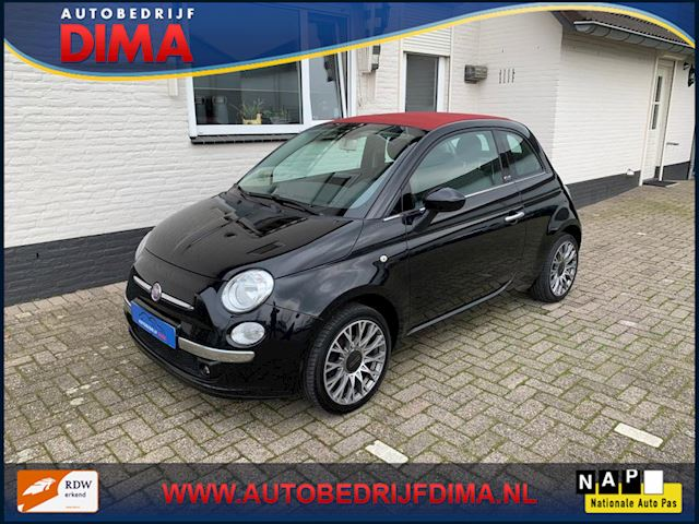 Fiat 500 C 1.2 Lounge / Airco/ PDC
