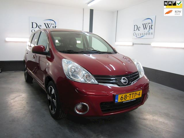 Nissan Note 1.4 Connect Edition incl. NAVI./CRUISE. en NWE APK van 1e EIG.!!